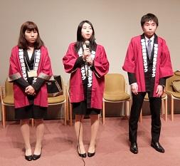 早稲田祭の運営スタッフ