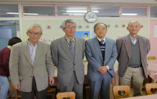 左から、講師を務めた小山、中村、馬場、大島の各氏