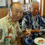 アジアンスタイルのソムリエ河崎さん(左)と小川さん