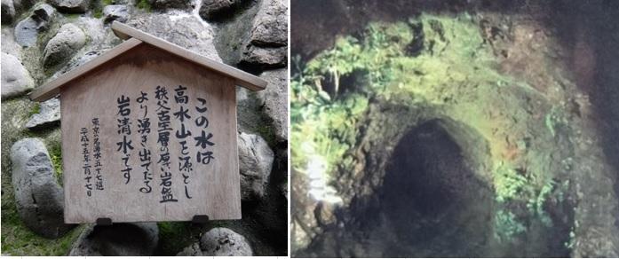 東京都名湧水指定の水源