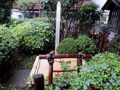 近藤勇生家跡。産湯の井戸