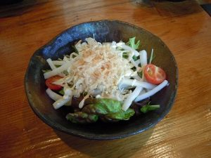 大根とジャコのサラダ