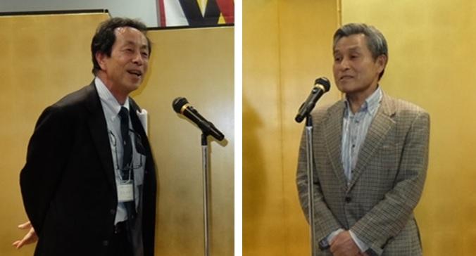 新入会員の岩本さん(左)と北橋さん