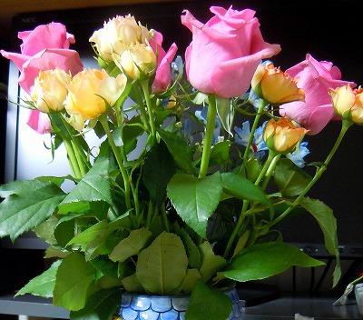 1周年お礼の花束