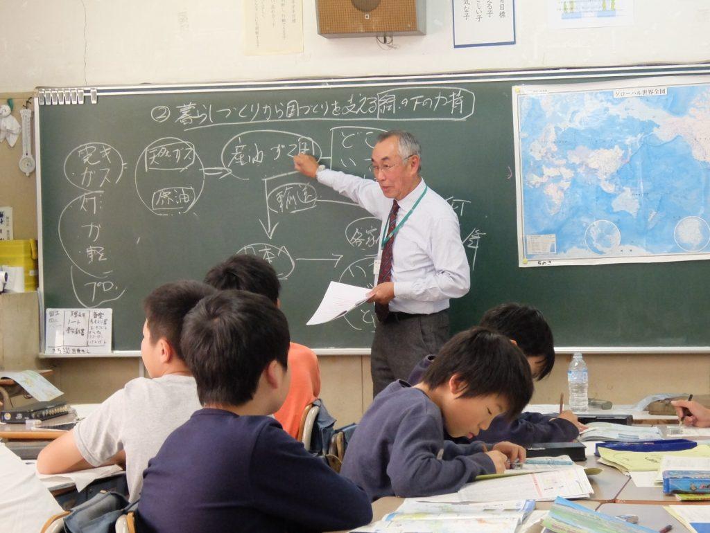 塚本さんの授業風景
